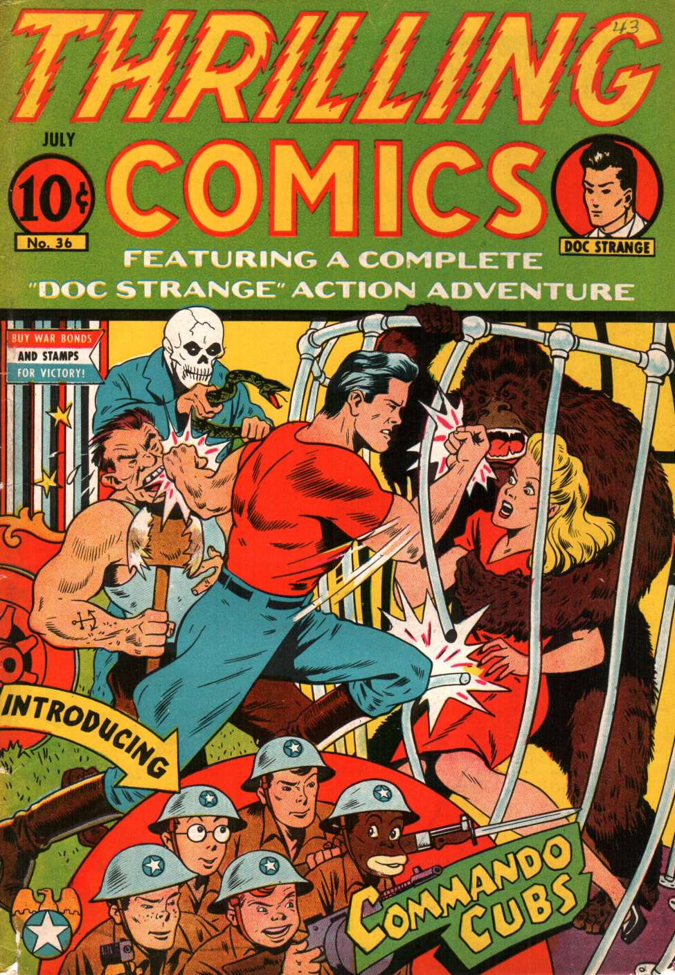 Thrilling Comics #36, Pines