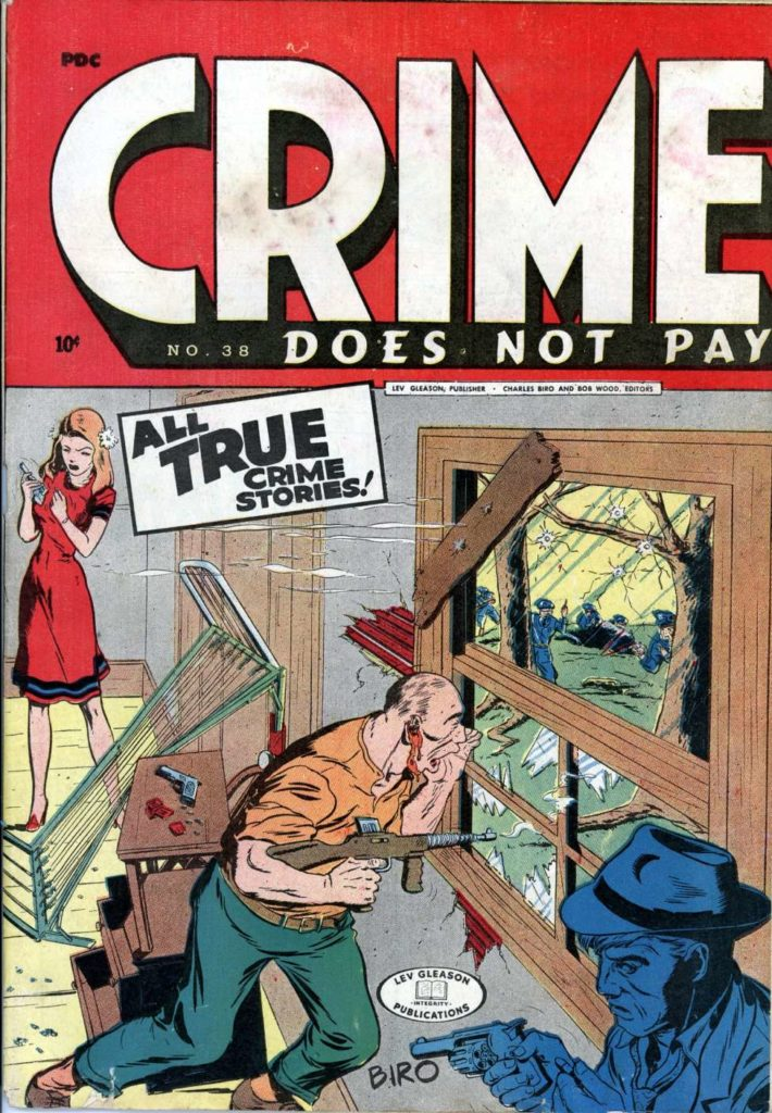 Crime Does Not Pay #38, Lev Gleason Publications