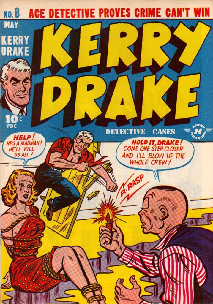 Kerry Drake #8, Harvey