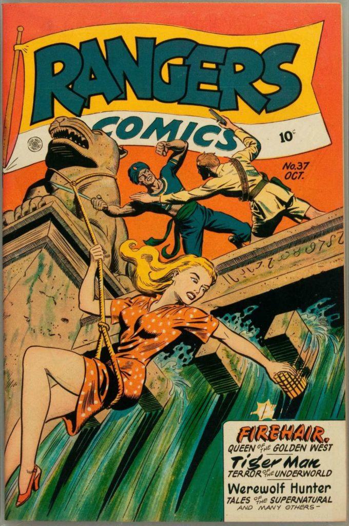 Rangers Comics #37, Fiction House