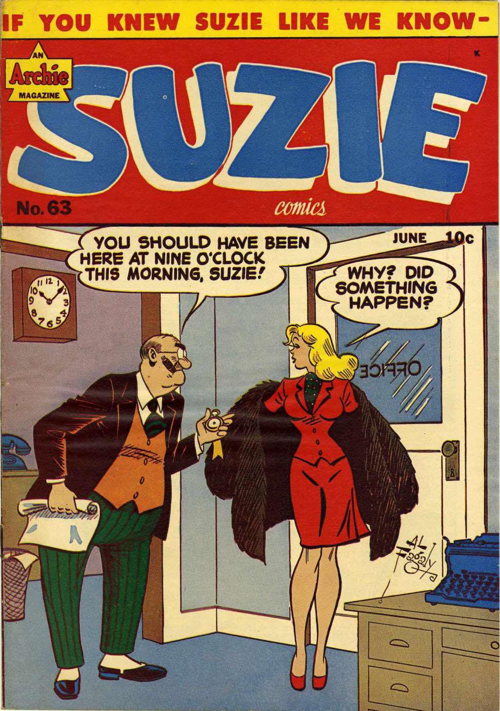Suzie #63, MLJ