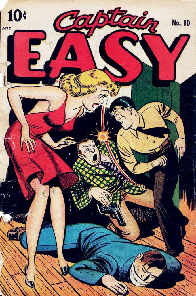 Captain Easy #10, Pines