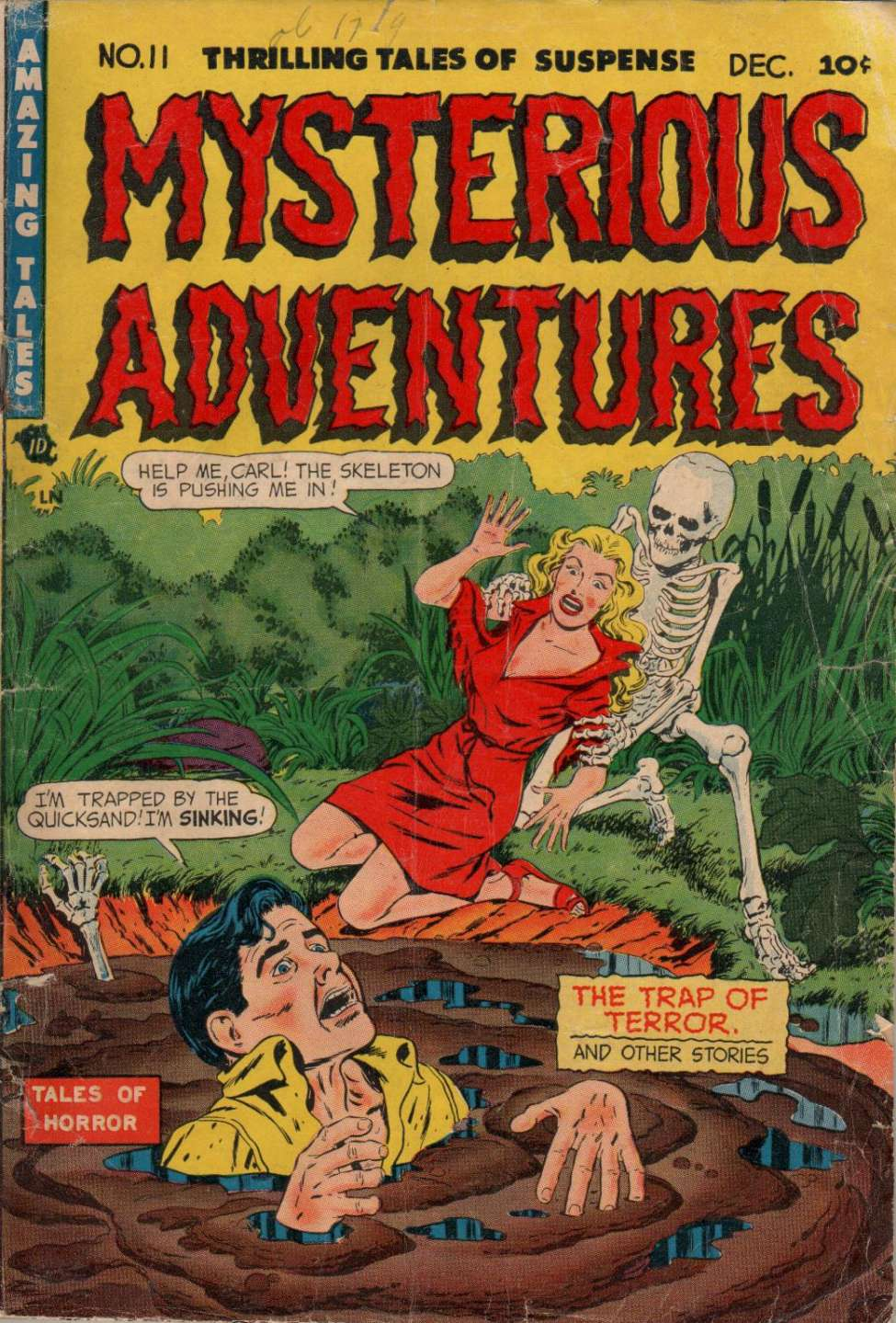 Mysterious Adventures #11, Story