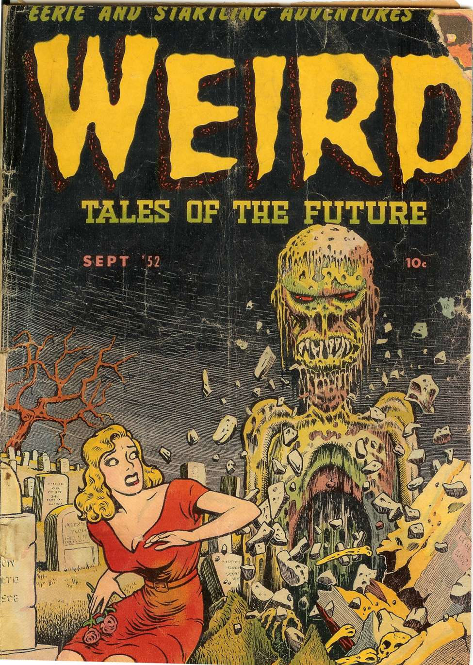 Weird Tales of the Future #3, Stanley Morse