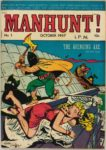 Manhunt! #1, Magazine Enterprises