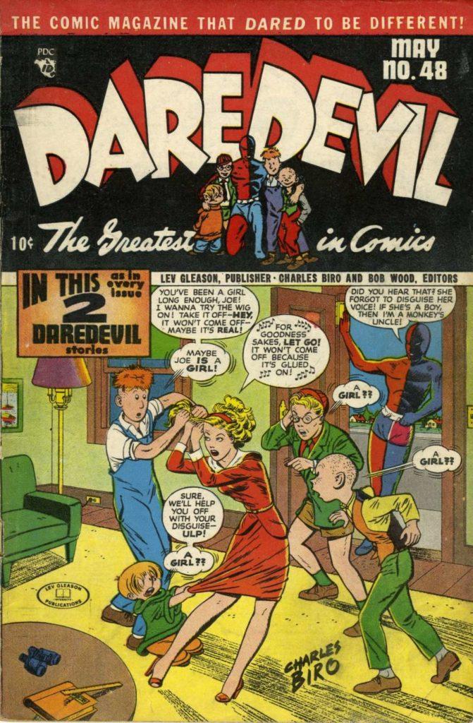 Daredevil #48, Lev Gleason