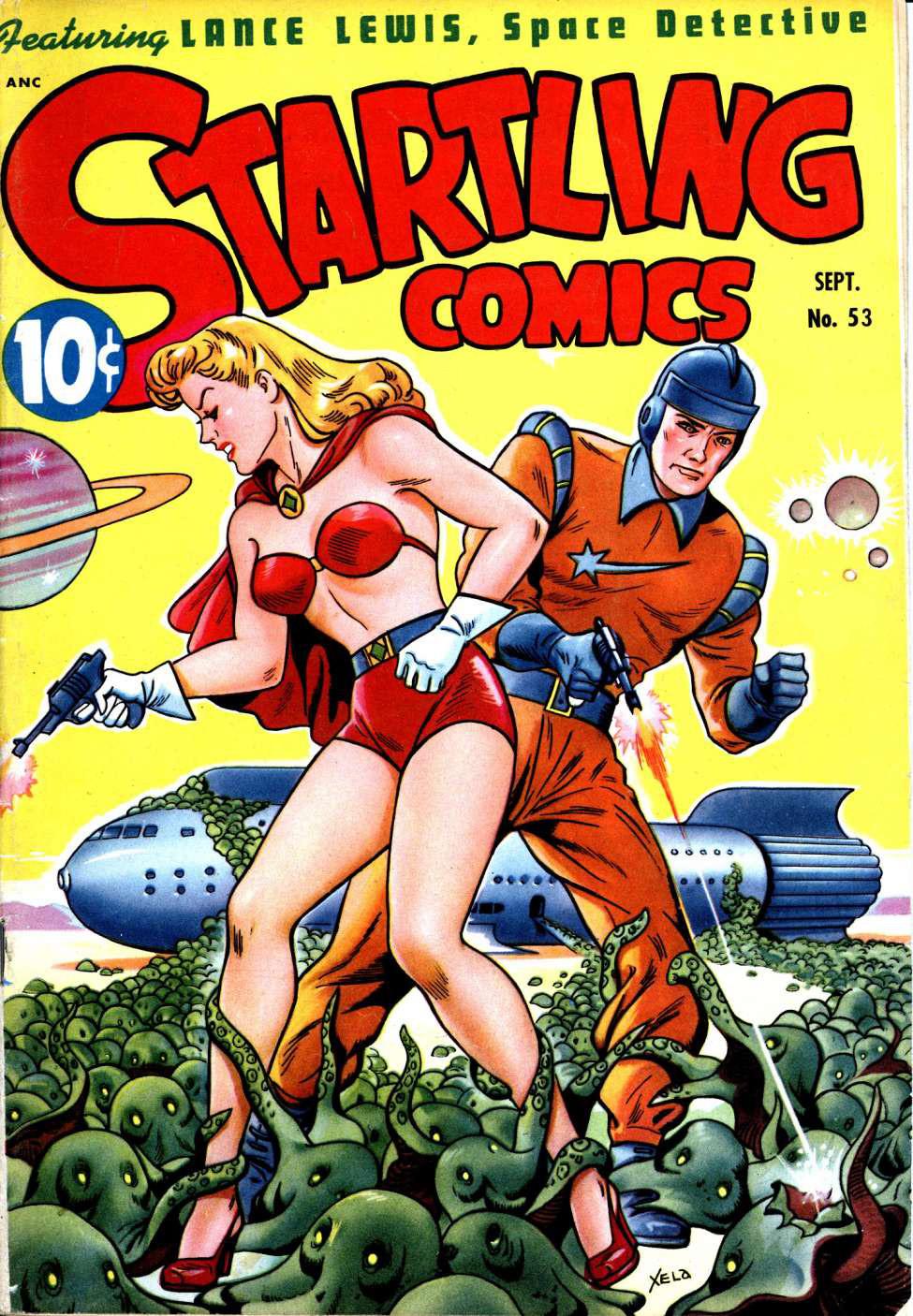 Startling Comics #53, Pines
