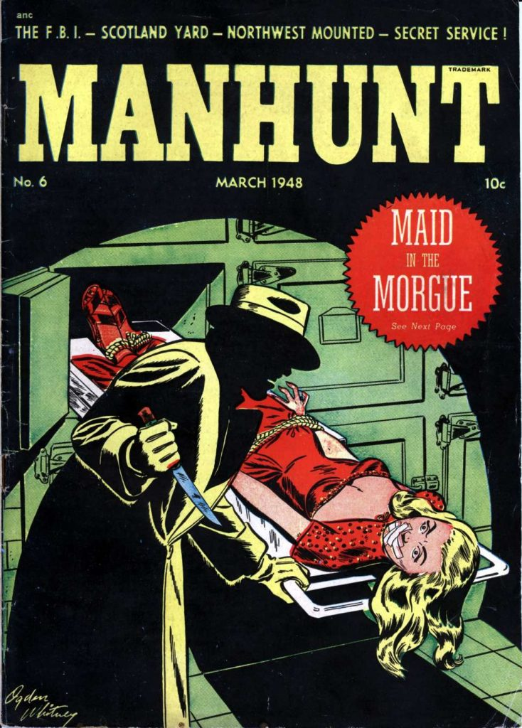 Manhunt #6, Magazine Enterprises
