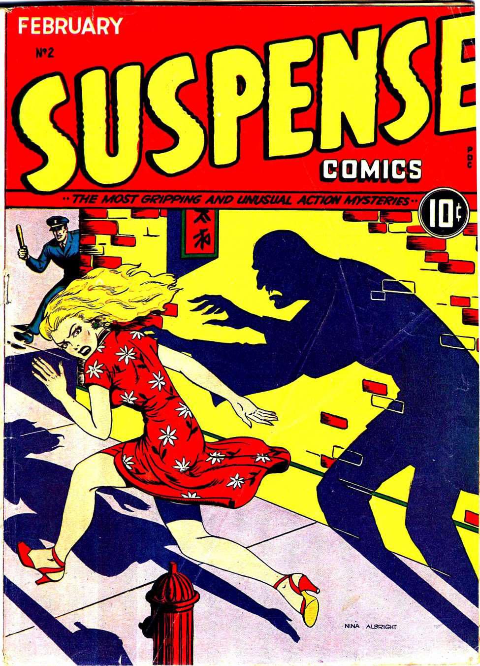 Suspense Comics #2, Holyoke