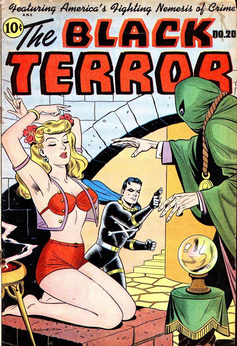 The Black Terror #20, Pines