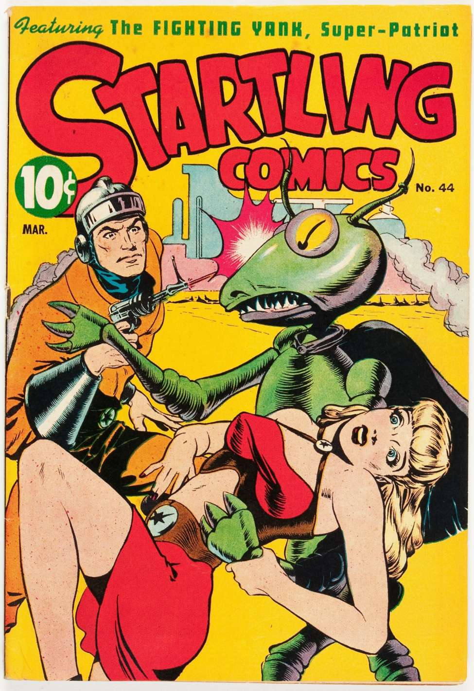 Startling Comics #44, Pines