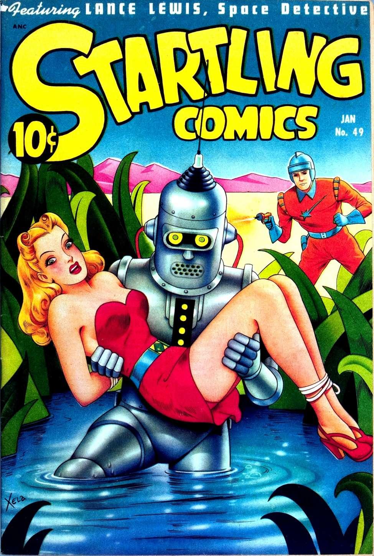 Startling Comics #49, Pines
