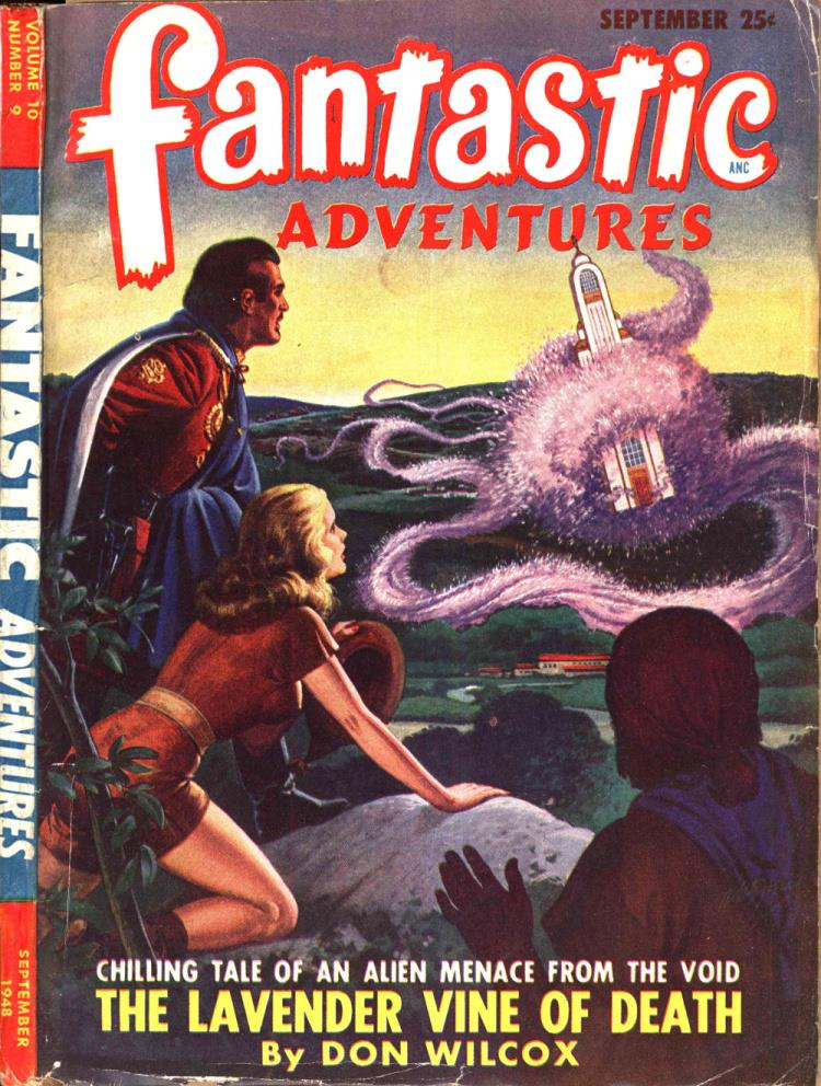 Fantastic Adventures v10 #9