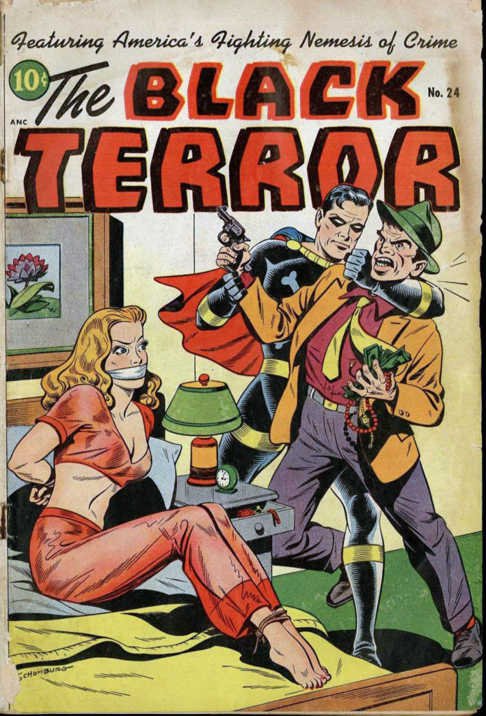 The Black Terror #24, Pines