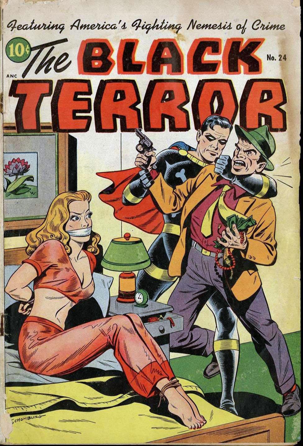 The Black Terror #24, Pines