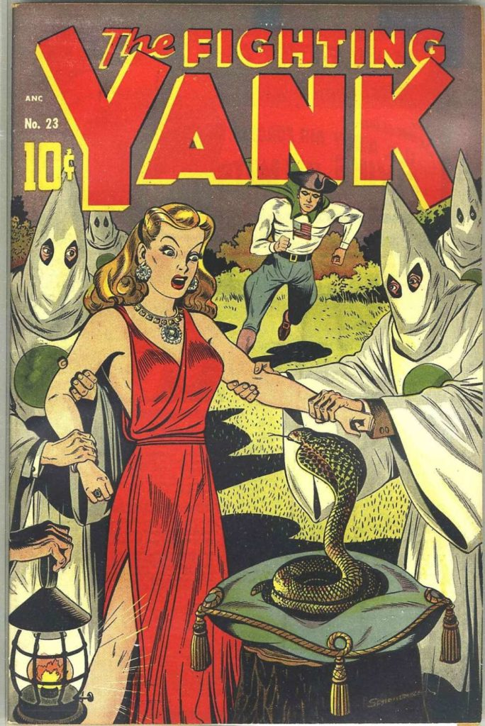 The Fighting Yank #23, Pines
