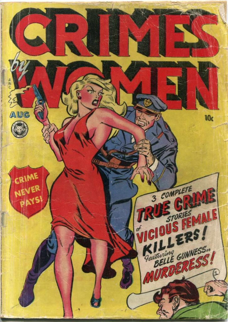Crimes by Women #2, Fox Features