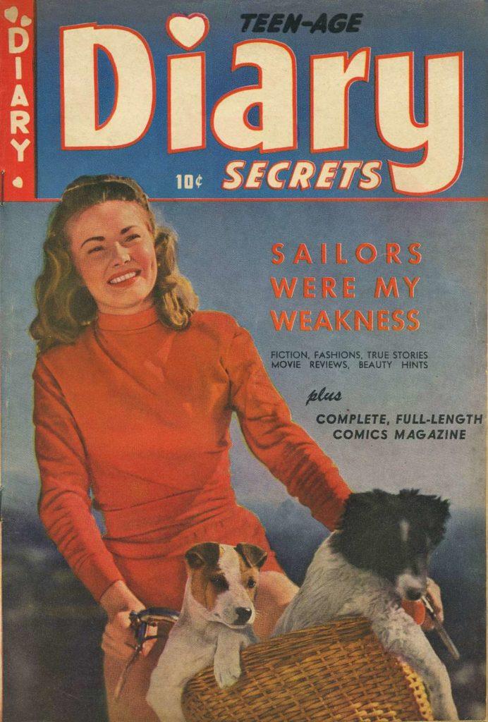Teen-Age Diary Secrets #4, St. John