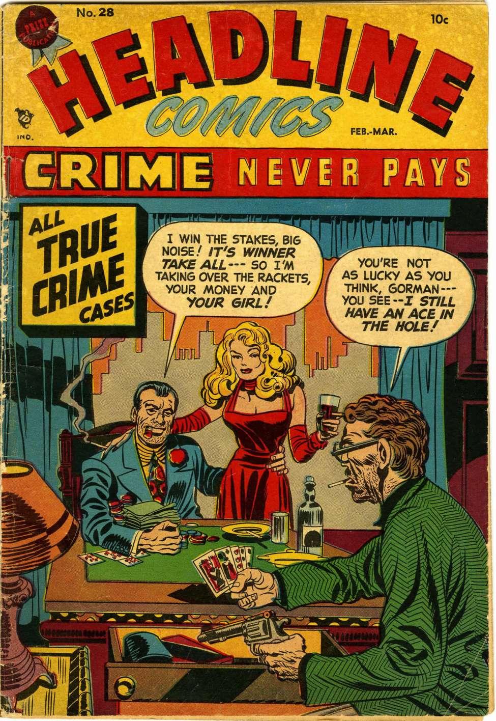 Headline Comics #28, Prize Comics