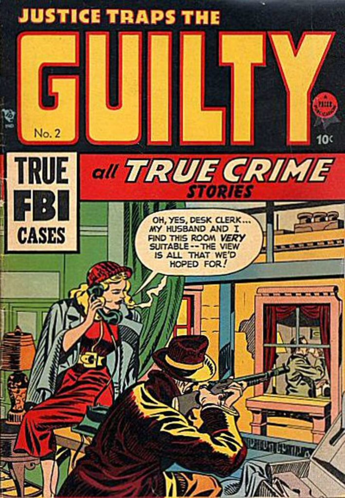 Justice Traps the Guilty v1 #2, Prize Comics