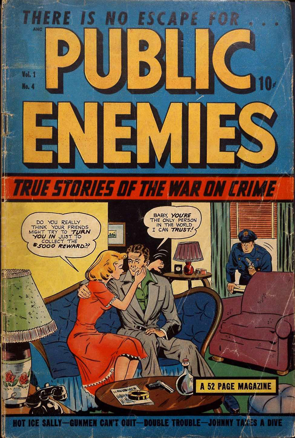 Public Enemies v.1 #4, DS Publishing