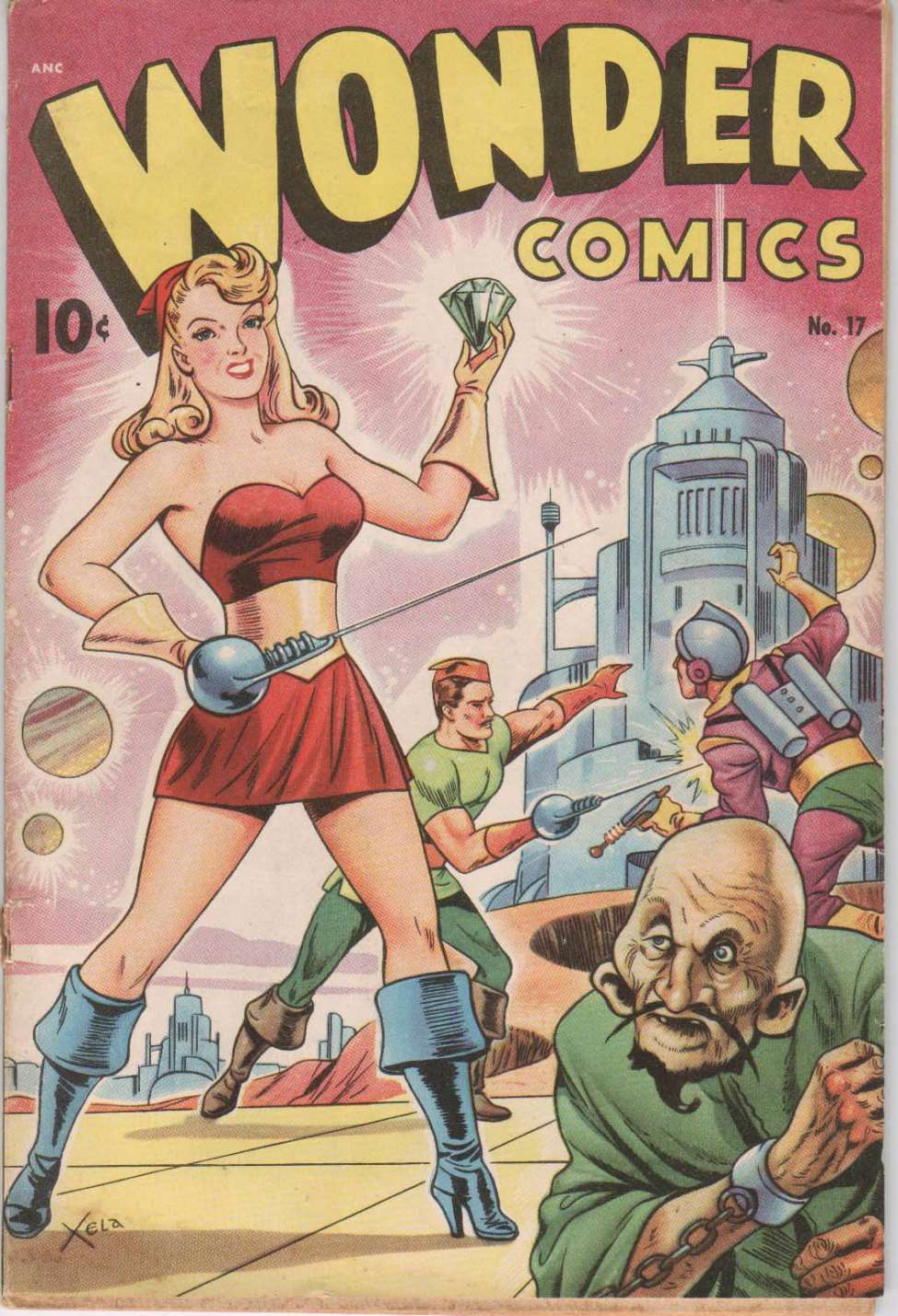 Wonder Comics #17, Pines