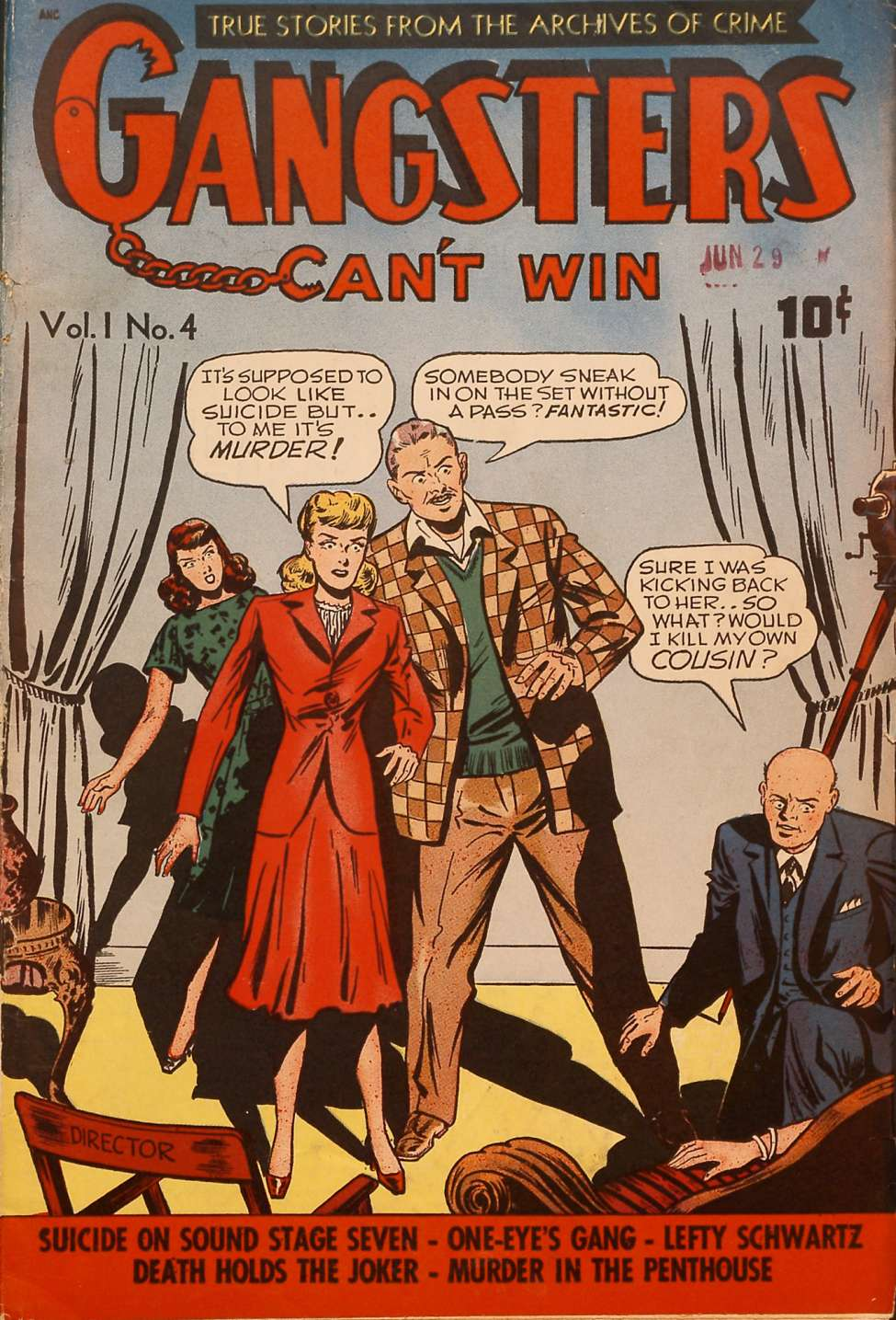 Gangsters Can't Win v1 #4, DS Publishing