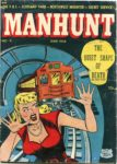 Manhunt #9, Magazine Enterprises