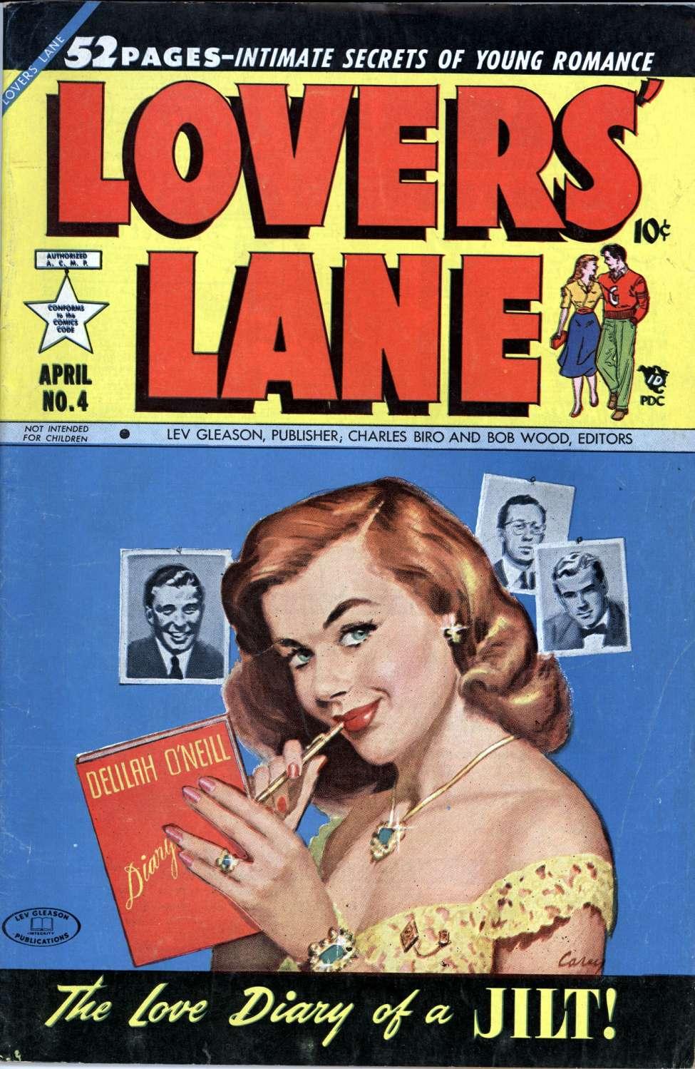 Lovers' Lane #4, Lev Gleason