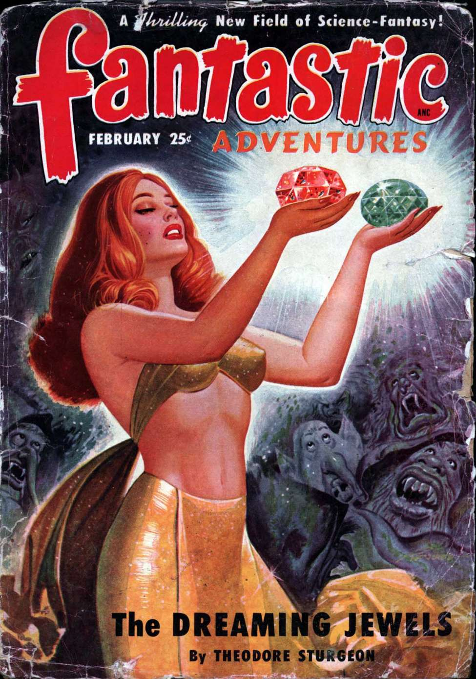 Fantastic Adventures v12 #2