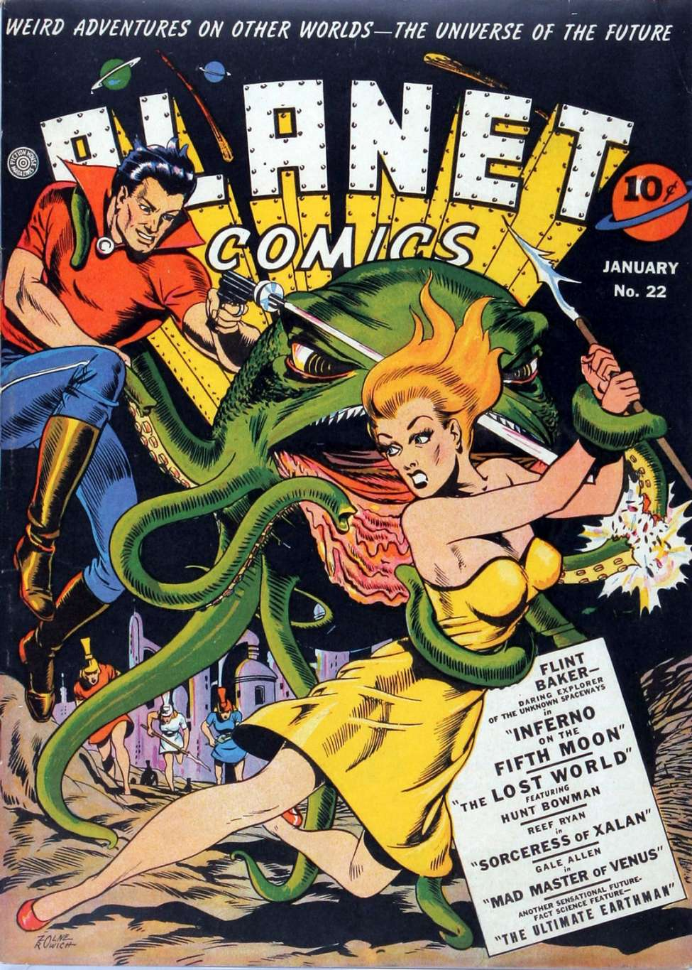 Planet Comics #22, Fiction House