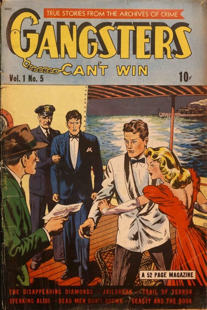 Gangsters Can't Win v1 #5, DS Publishing