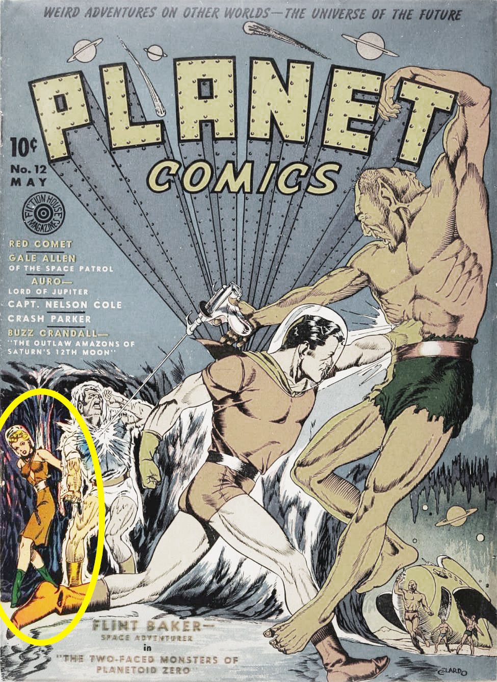 Planet Comics #12, Fiction House