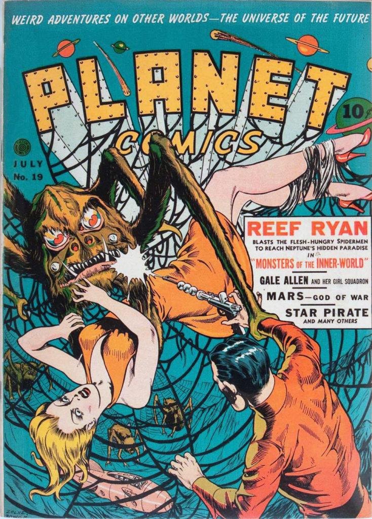 Planet Comics #19, Fiction House