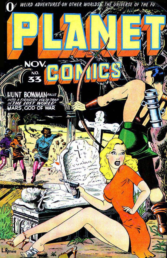 Planet Comics #33, Fiction House