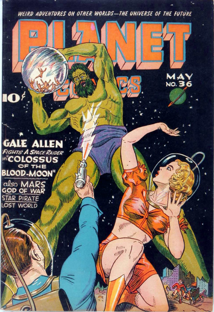 Planet Comics #36, Fiction House