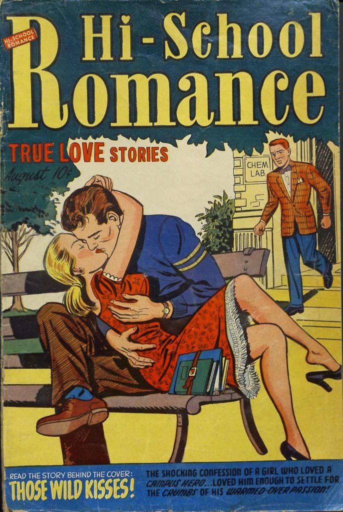 Hi-School Romance #16, Harvey