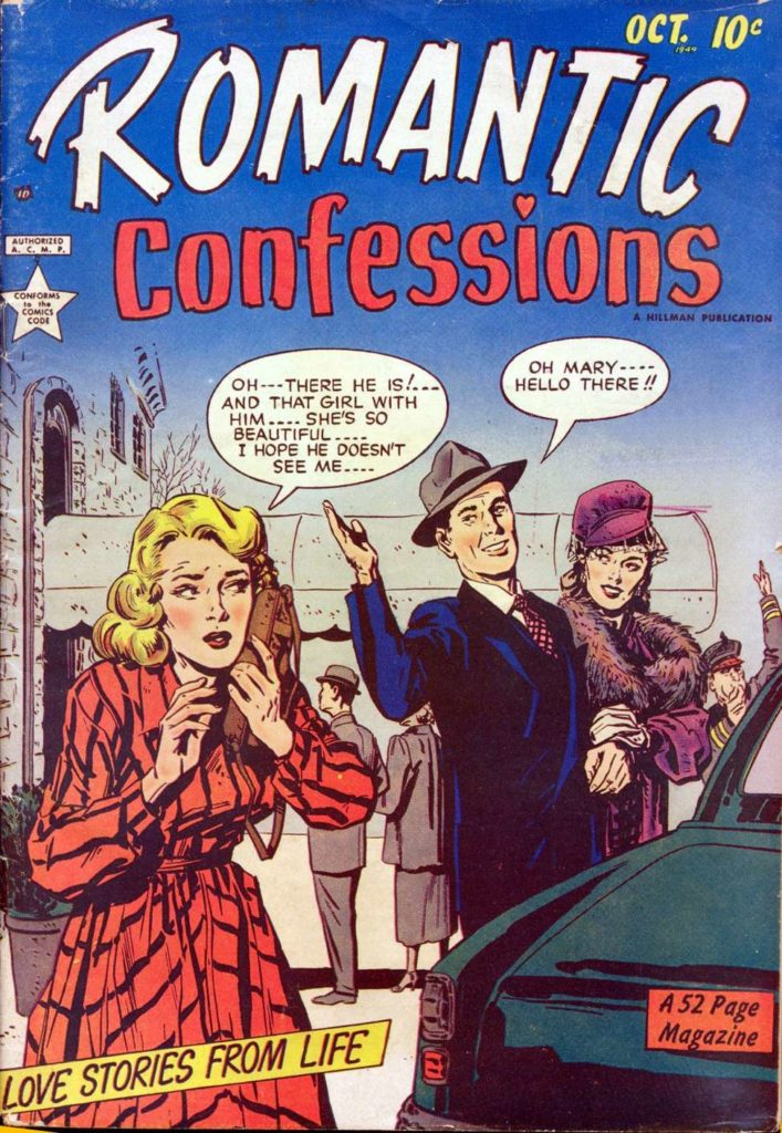 Romantic Confessions v1 #1, Hillman