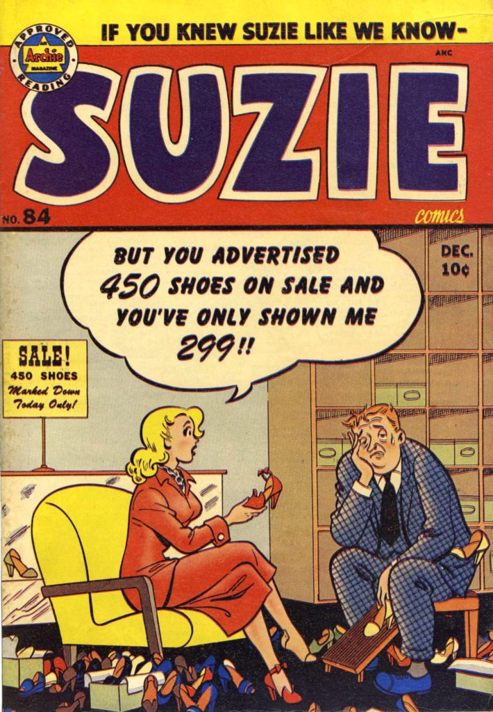 Suzie #84, by MLJ/Archie