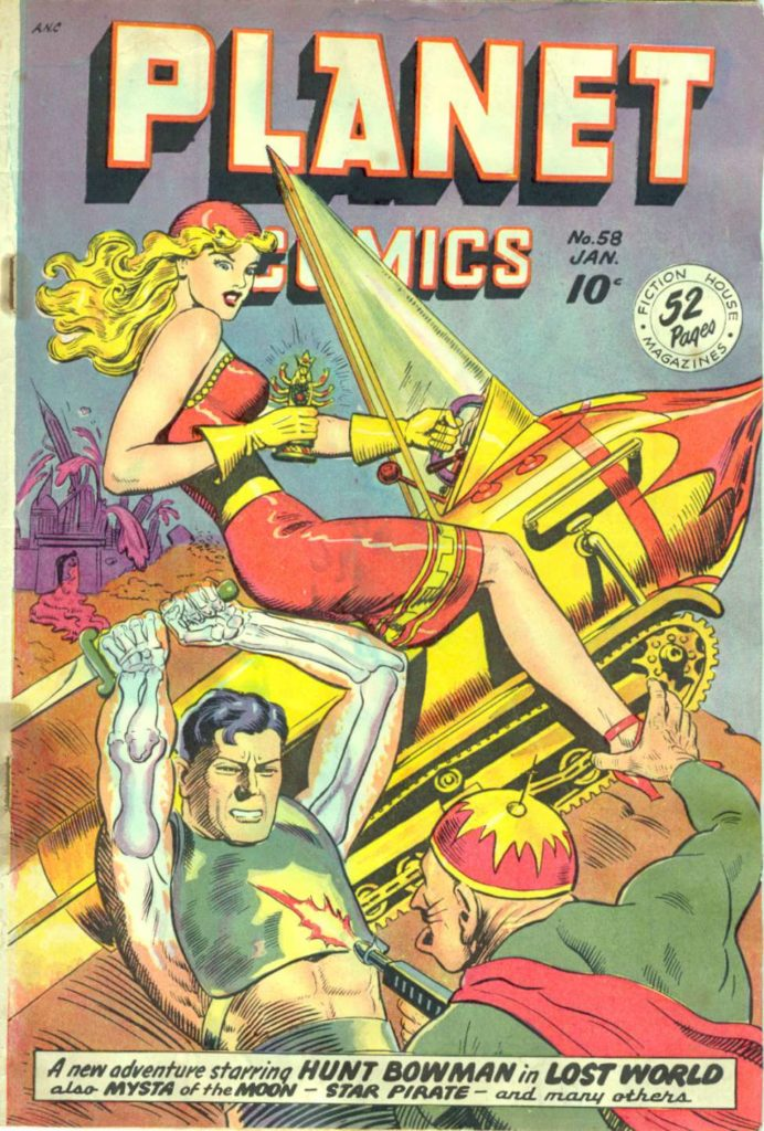Planet Comics #58, Fiction House
