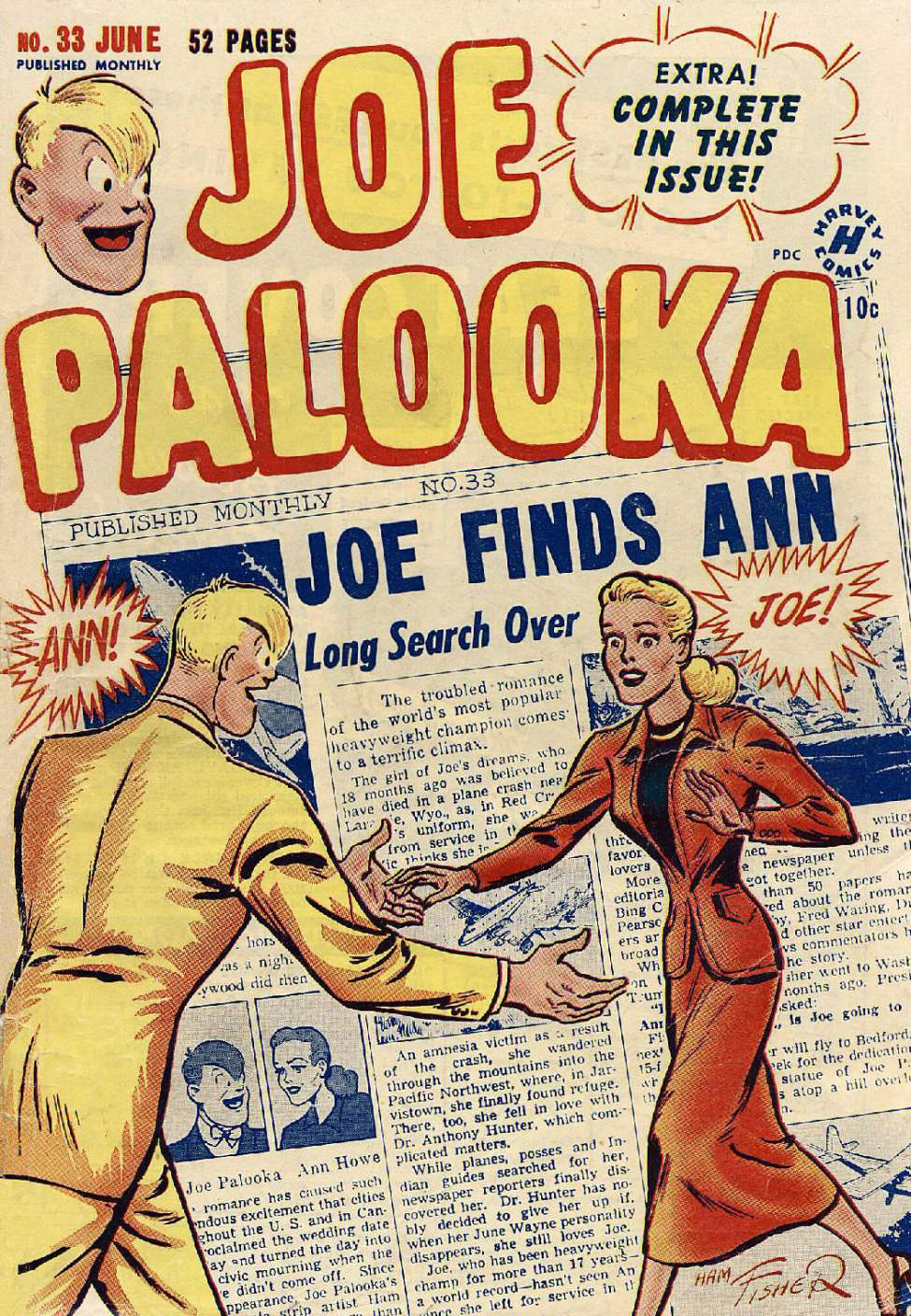Joe Palooka #33, Harvey
