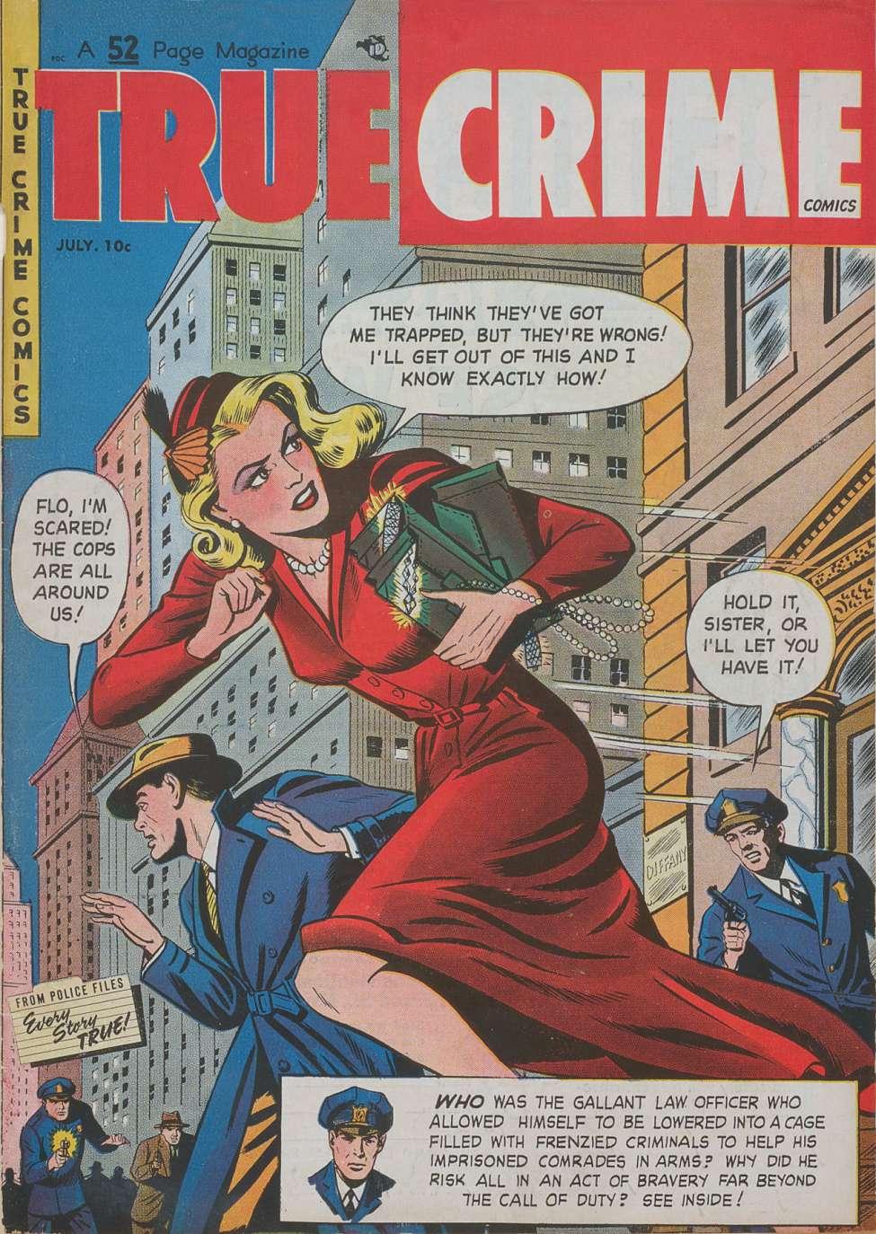 True Crime Comics v1 #6, Magazine Village