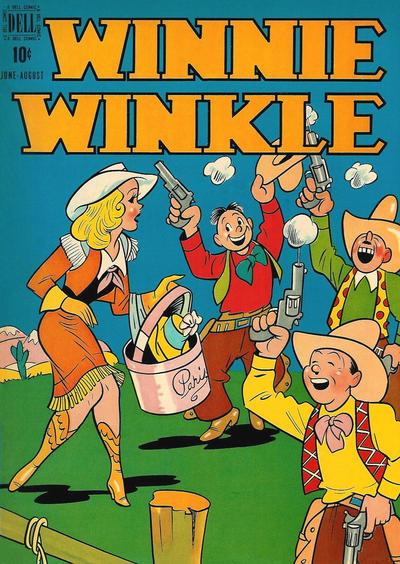 Winnie Winkle #6, Dell