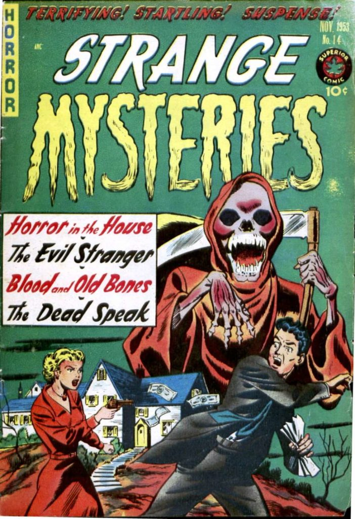 Strange Mysteries #14, Superior Comics