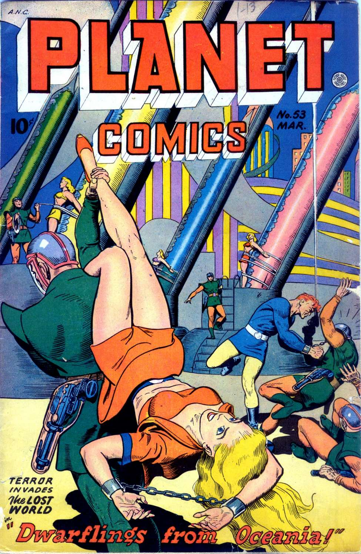 Planet Comics #53, Fiction House