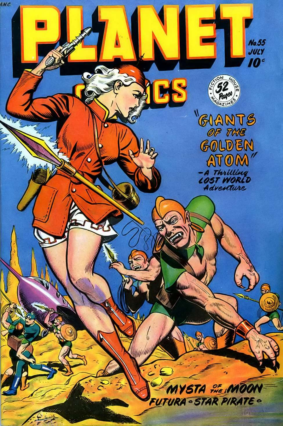 Planet Comics #55, Fiction House