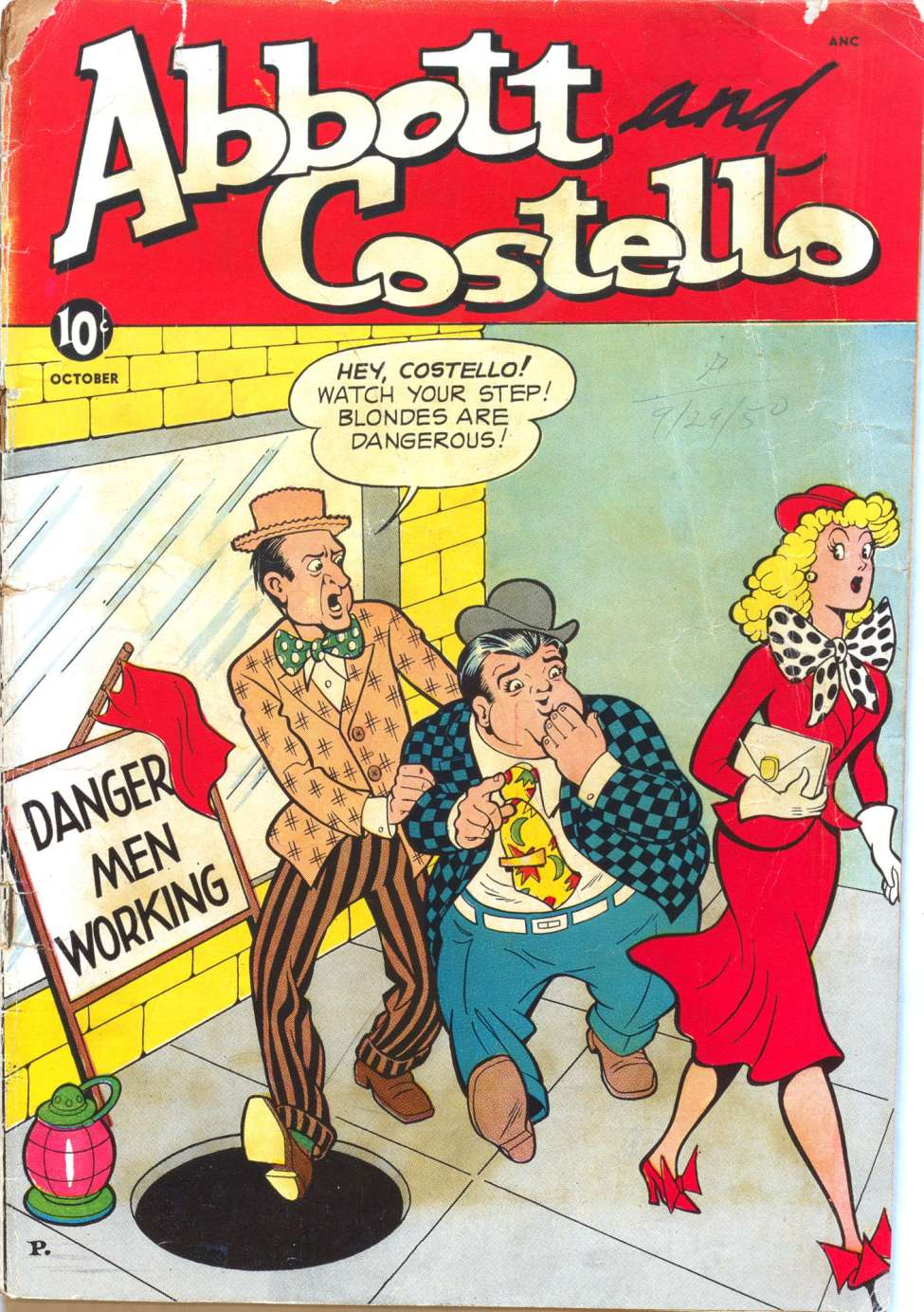 Abbott and Costello #11, St. John