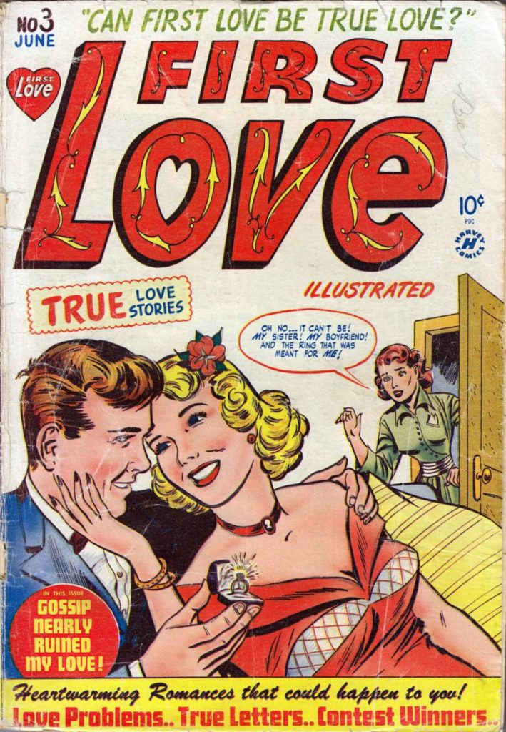 First Love Illustrated #3, Harvey Comics