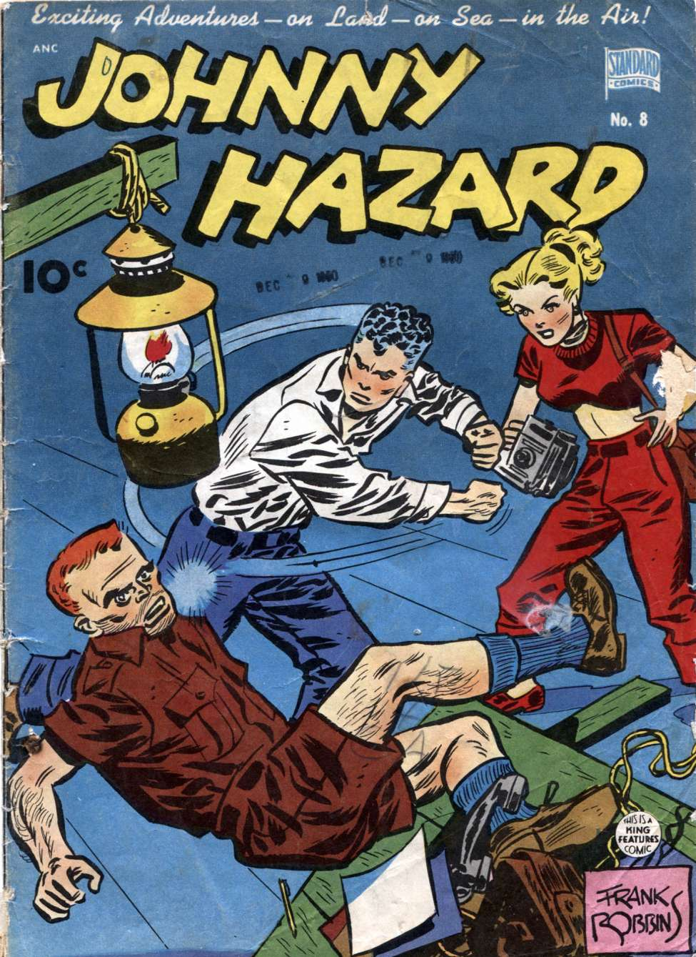 Johnny Hazard #8, Standard