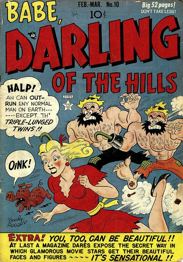 """Babe, Darling of the Hills"" #10, Prize Comics"